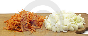 Chopped Vegetables Royalty Free Stock Images - Image: 14540359