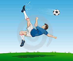 Soccer Player Royalty Free Stock Images - Image: 14543989