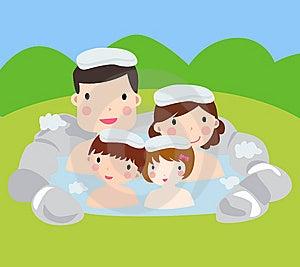 Family Spa Stock Photos - Image: 14544033