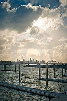 City Docks Stock Photos - Image: 14544263