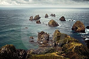 Nugget Point Stock Images - Image: 14544384