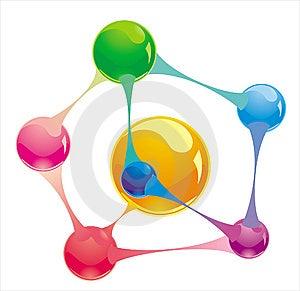 Molecule Stock Image - Image: 14544421