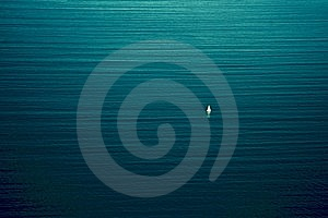 Sailing Ship In The Sea Stock Photography - Image: 14544462