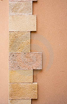 Sandstone Wall Stock Photo - Image: 14545280
