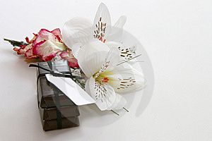 Chocs And Flowers Stock Image - Image: 14546461