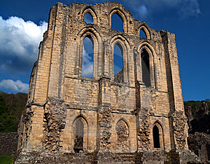 HDR Ruined Abbey Royalty Free Stock Photography - Image: 14546597