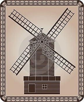 Windmill Stock Image - Image: 14548041