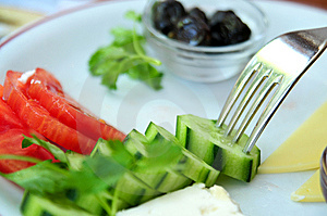 Mediterranean Brunch Stock Images - Image: 14548404