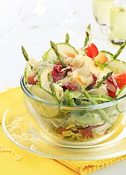 Fresh Vegetable Salad Royalty Free Stock Images - Image: 14548949