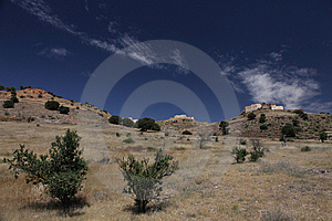 Old Hystorical Fort In Mountain Of Marocco Royalty Free Stock Image - Image: 14549366