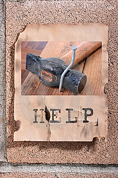 Request For The Help Royalty Free Stock Photo - Image: 14550805