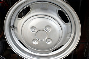 Car Rim Royalty Free Stock Photography - Image: 14555877