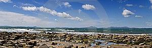 Welsh Coastline Panoramic Stock Photos - Image: 14556753