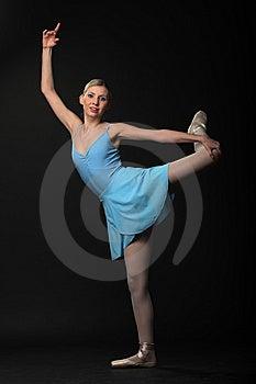 Dancing Ballerina Stock Image - Image: 14557071