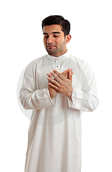 Worried Stressed Sad Arab Man Stock Photos - Image: 14557133