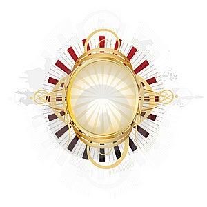 Beautiful Ornate Shield Royalty Free Stock Images - Image: 14557479
