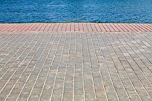Quay Stock Photo - Image: 14559770