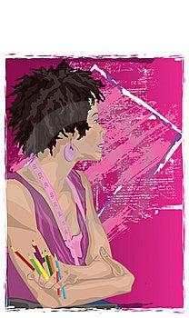 Artist Stock Photo - Image: 14560930