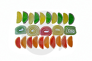 Arnament Of Fruit Jelly Stock Images - Image: 14561134
