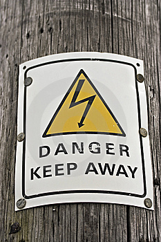 Danger Sign Royalty Free Stock Photography - Image: 14561997