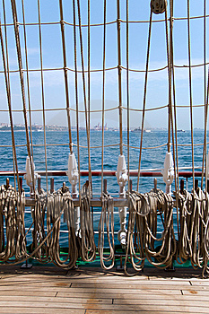 Tall Ship Rigging Stock Photo - Image: 14563720