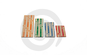 Coin Wrappers Stock Photo - Image: 14565200