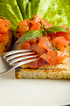 Bruschetta Royalty Free Stock Photography - Image: 14565237
