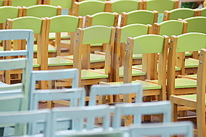 Rows Of Chairs Stock Photos - Image: 14566613