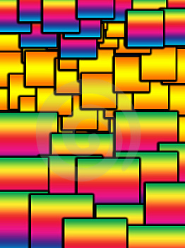 Colour Square Background Royalty Free Stock Photo - Image: 14566975