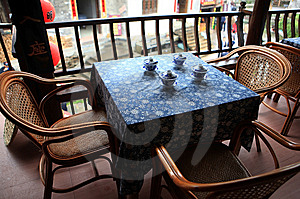 Chinese Classical Tea-house Royalty Free Stock Image - Image: 14567716