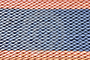 Thai Style Roof Pattern Stock Photography - Image: 14568492