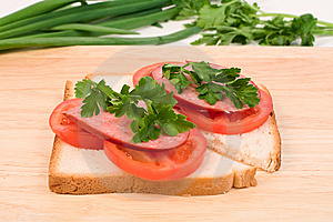Sandwiches Royalty Free Stock Images - Image: 14571339
