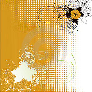 Dots Ecological Background Stock Images - Image: 14573164