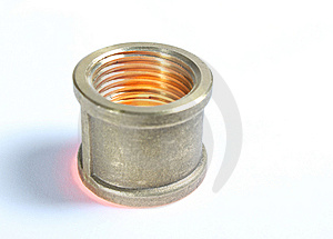 Steel Coupling Royalty Free Stock Photography - Image: 14573877