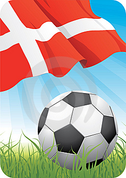 World Soccer Championship 2010 - Denmark Royalty Free Stock Photography - Image: 14574147