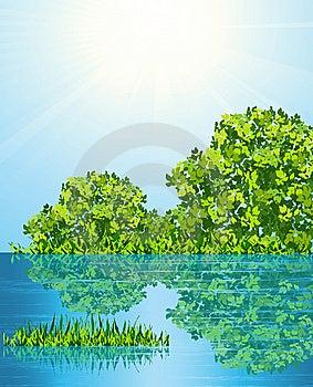 Lake Royalty Free Stock Photography - Image: 14578217
