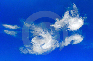 Picturesque Clouds Are In Sky Stock Photos - Image: 14579513