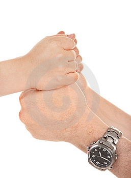 Adults And Children's Hands Stock Photography - Image: 14579552