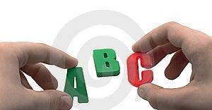 Abc Royalty Free Stock Image - Image: 14580586
