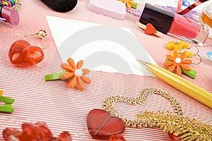 Background For Female Holidays Royalty Free Stock Images - Image: 14582269