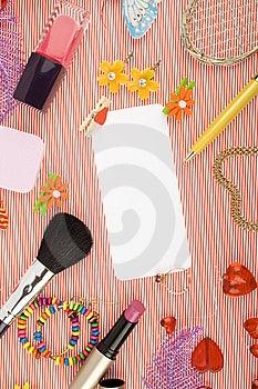 Background For Female Holidays Royalty Free Stock Image - Image: 14582296