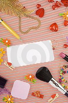 Background For Female Holidays Royalty Free Stock Photography - Image: 14582317