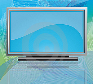 Flat Screen Tv Stock Photography - Image: 14583542