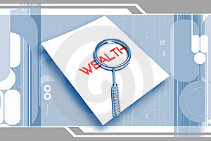 Wealth Letter And Lance Royalty Free Stock Photos - Image: 14583788