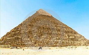 Khafre Pyramid Stock Image - Image: 14584511