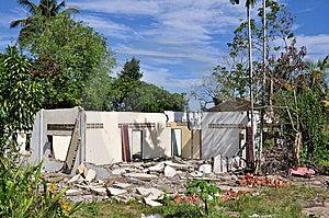 Broken House Royalty Free Stock Photos - Image: 14584738