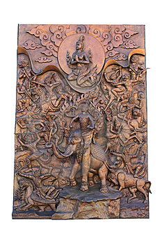 Sculptures Depicting Stock Photo - Image: 14587670