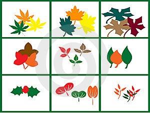 Leaf Motif Stock Images - Image: 14589674