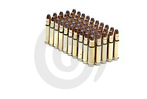 5mm Hollow Point Bullets Royalty Free Stock Photo - Image: 14592945