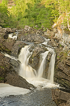 The Falls Of Rogie. Stock Image - Image: 14594531